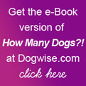 Click here to buy the e-Book version of How Many Dogs from Dogwise.com