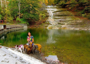 Dog Friendly Vacation in Upstate New York.